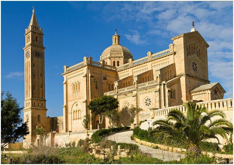 Базилика Девы Марии Та'Пину. Остров Гозо (Мальта)