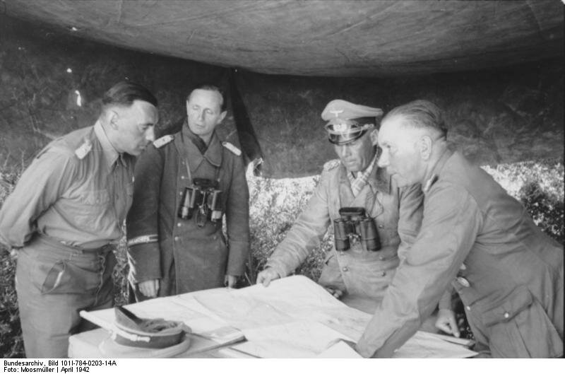 Nordafrika, Bayerlein, Rommel, Nehring