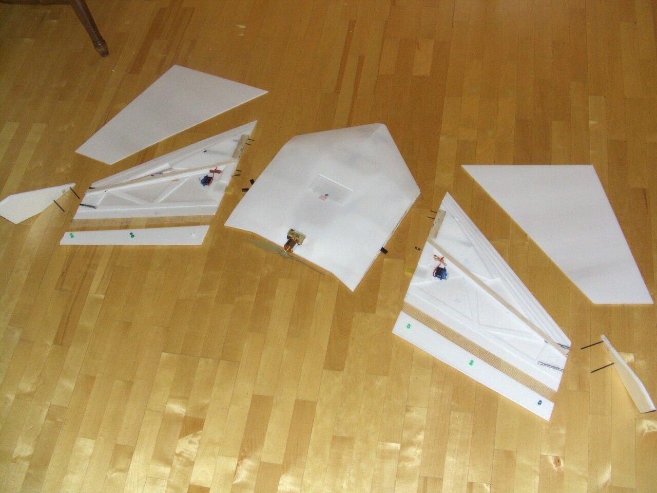 Летающее крыло (бесхвостка) из бумаги Всё самое интересное! 91
