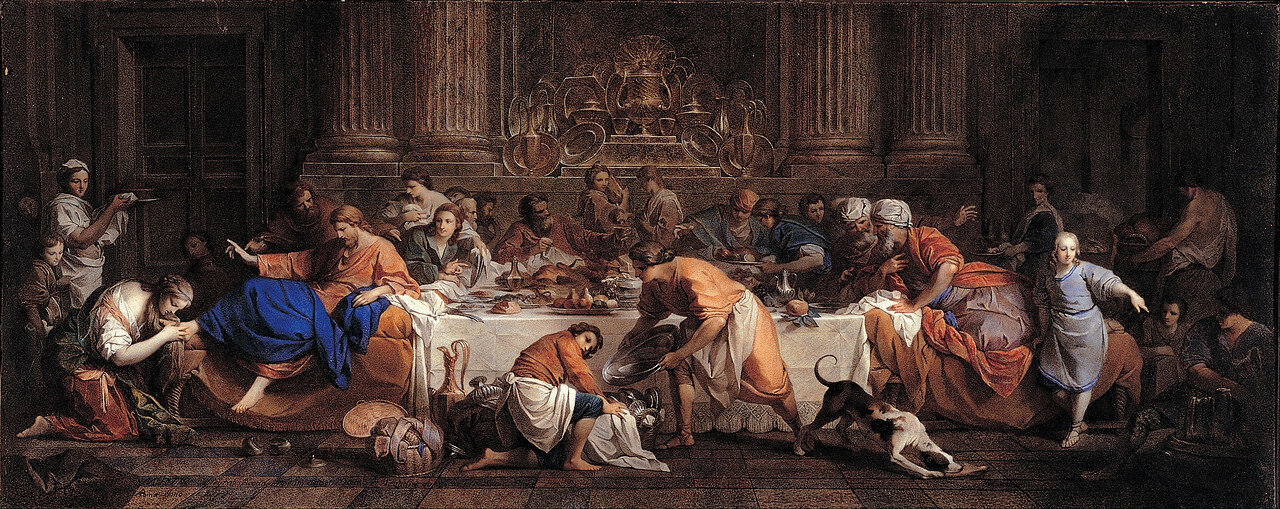 Maria_Felice_Tibaldi_Subleyras_-_Dinner_at_the_House_of_the_Pharisee_-_Google_Art_Project.jpg