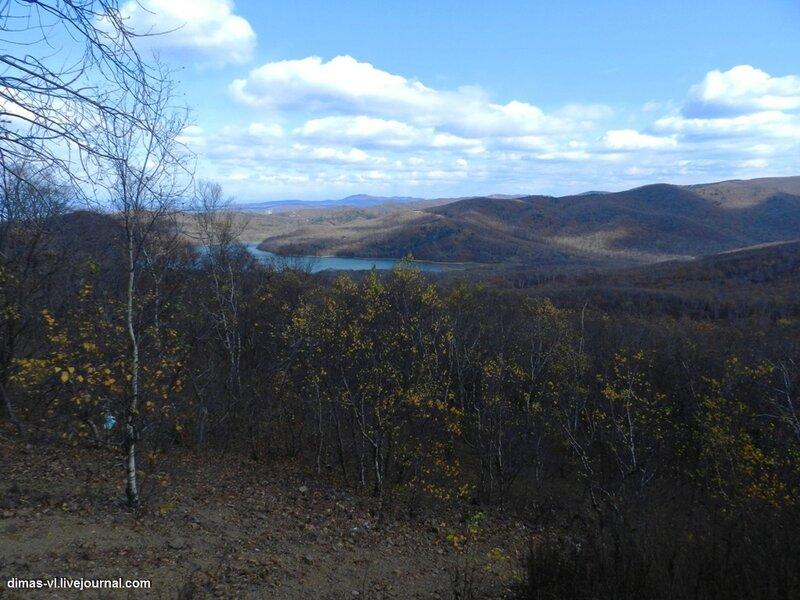 Окрестности форта №6 Владивостокской крепости. 17-октября-2011г