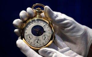 С молотка были проданы часы за 21 млн долларов