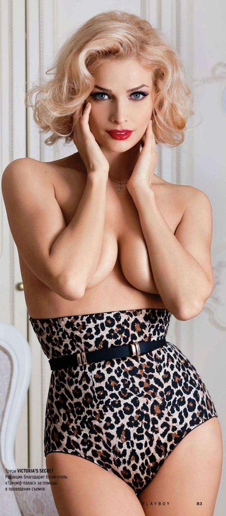 Татьяна Котова в журнале Playboy (Россия и Украина, декабрь 2011)