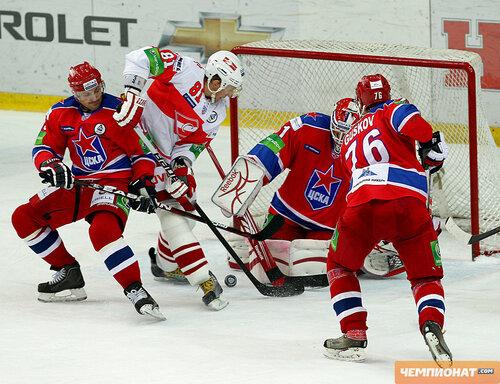 ЦСКА - Спартак 2:1 04-11-2011