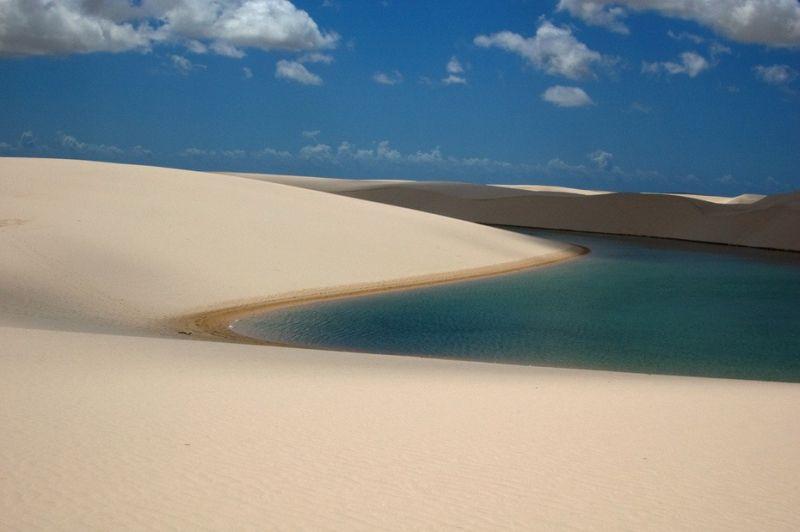 Простыни Мараньяна. Бразилия.