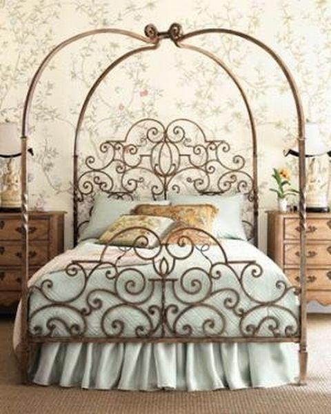 Кованые кровать своими руками