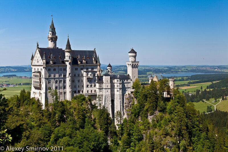 Баварские замки короля.