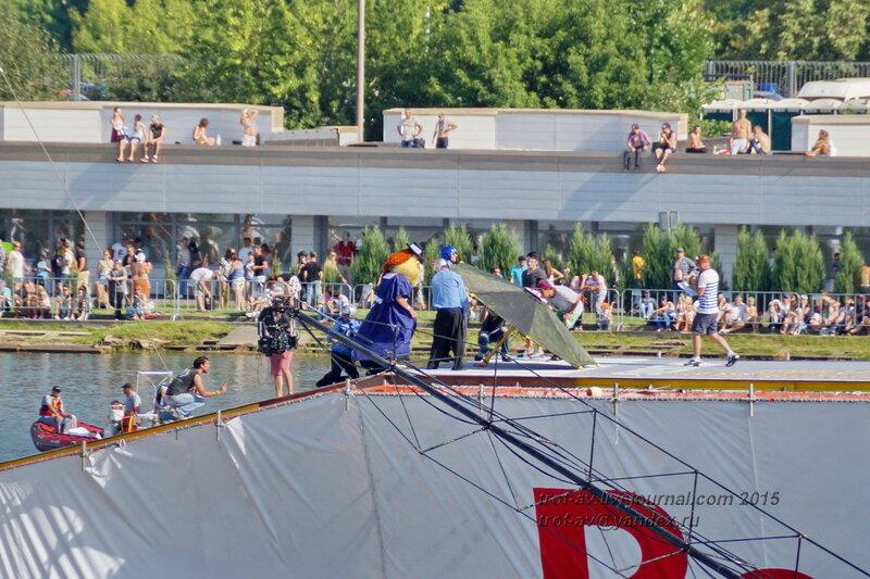 Команда Кровавая Мэрри, Фестиваль Red Bull Flugtag 2015, Москва