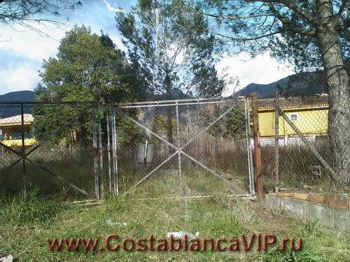 CostablancaVIP, земля в Marxuquera, земля в Испании, недвижимость в Испании, земля под застройку, Коста Бланка, земля в Gandia