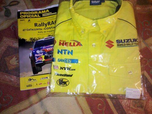 Продам рубашку Suzuki Sport (размер M)