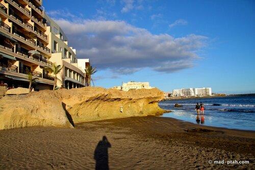 эль медано, пляж, тенерифе