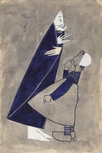 Владимир Егоров. Сахар. Эскиз костюма к спектаклю _Синяя птица_..jpg