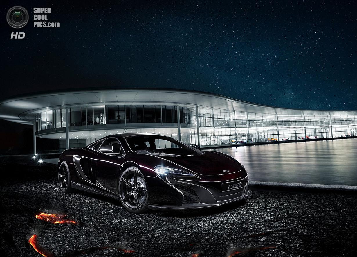 Инфернальный McLaren (8 фото)