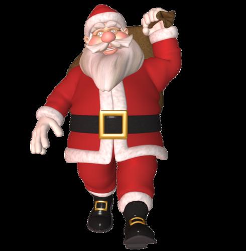 Santa уже несёт подарки))