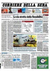 Il Corriere della Sera (29 Giugno 2014)