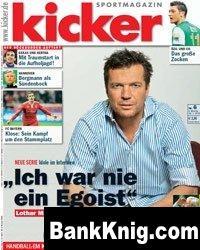Журнал Kicker Sportmagazin № 6 ( 18 01 2010 ) pdf 5,64Мб