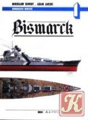 Книга Bismarck (Monografie Morskie 1)