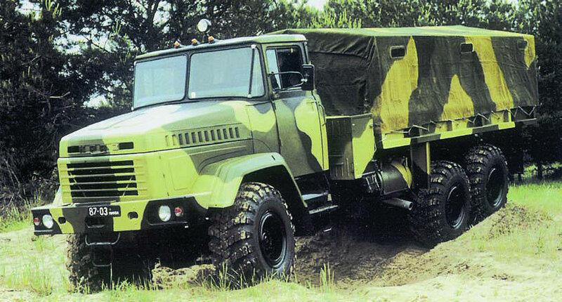 """Многоцелевой полноприводный автомобиль высокой проходимости КрАЗ-6322  """"Солдат """" и его модификации предназначен для..."""