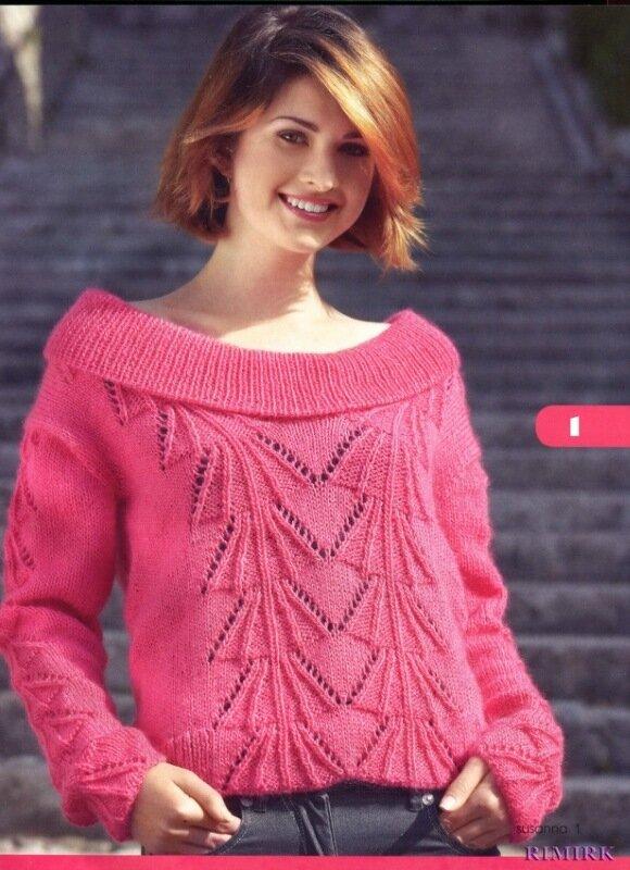 Новинки женского трикотажа от итальянских дизайнеров с учетом последних тенденций вязаной моды.