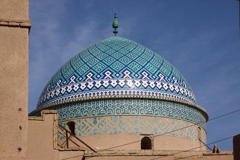 Купол мавзолея Сейеда Рокнаддина