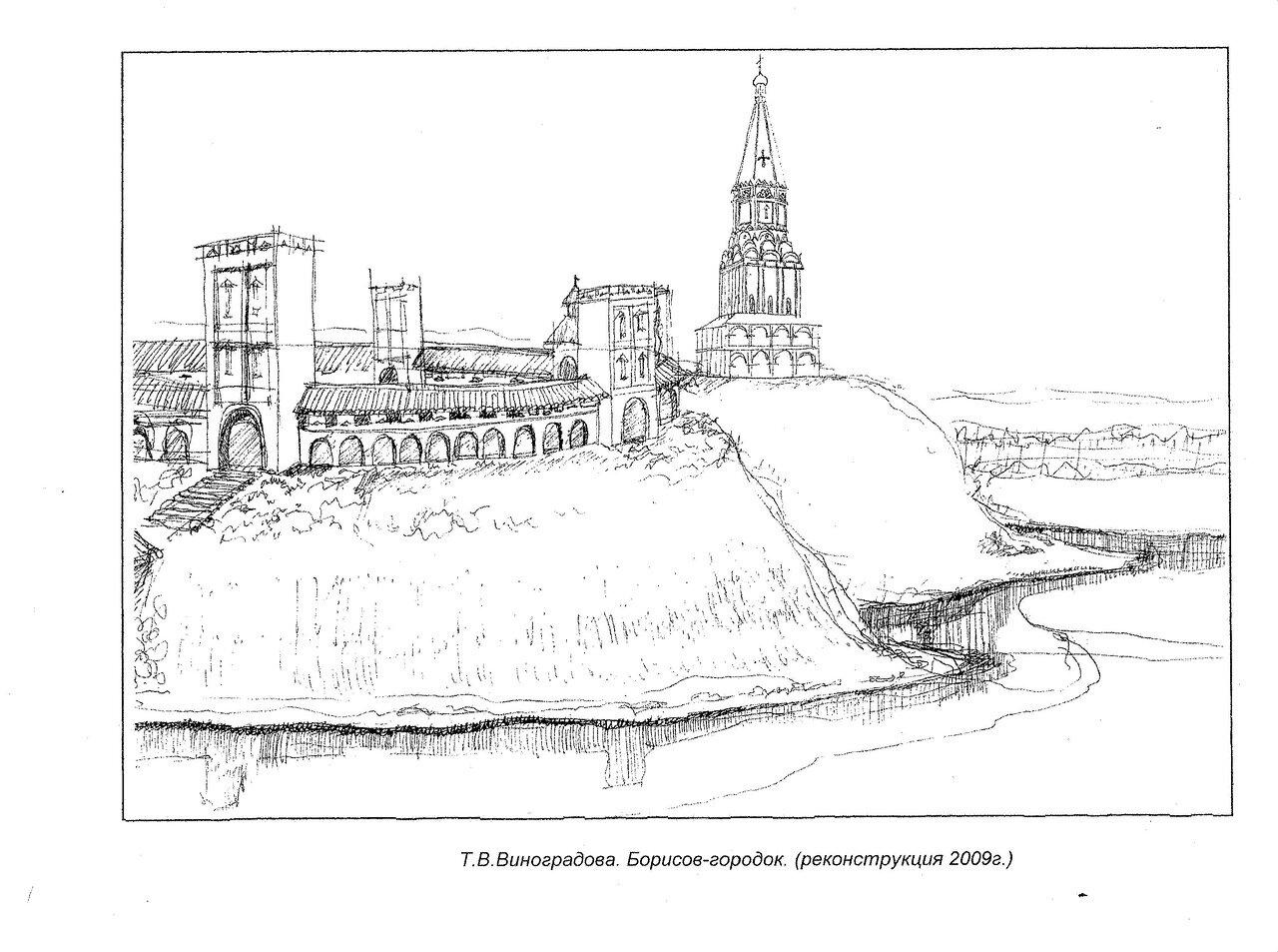 Крепости Построенные При Борисе Годунове На Карте