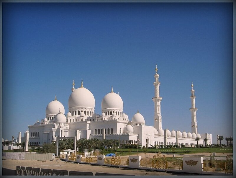 4. Мечеть Шейха Зайда (Абу - Даби, ОАЭ).JPG