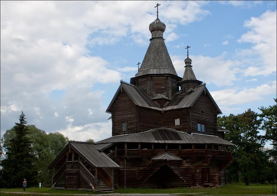 Витославлицы- музей деревянного зодчества