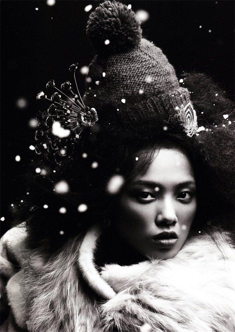 модель Грейс Гао / Grace Gao, фотограф Mei Yuan