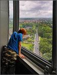 А из нашего окна...почти вся Бельгия видна!