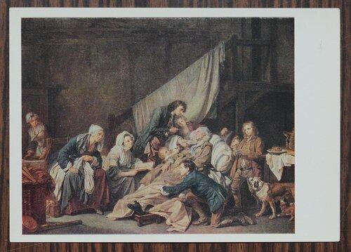 Паралитик, или плоды хорошего воспитания. 1763 г.