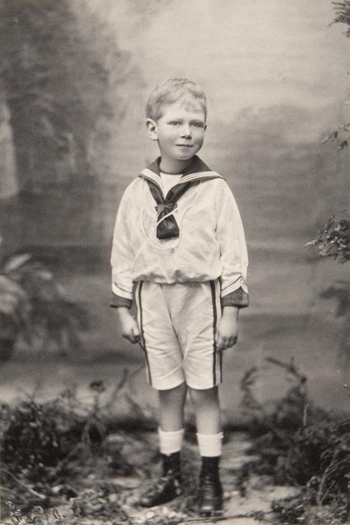 Король Георг VI (1895-1952), когда князь Альберт-Йорке  1900