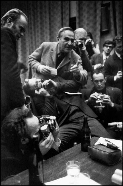 1972. Москва. Фотографы из советского Агентства Новостей