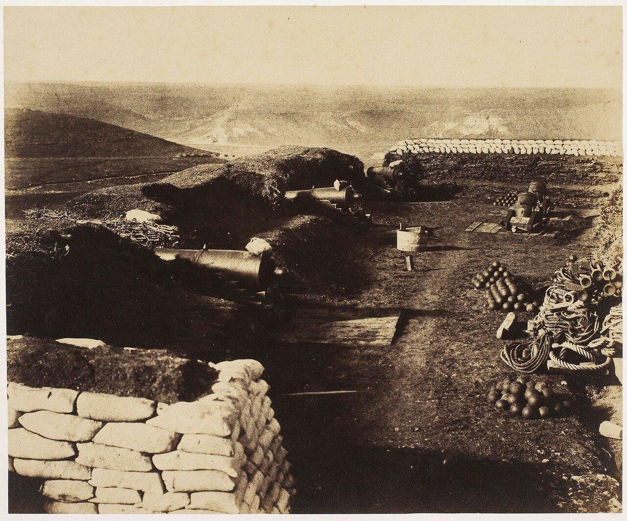Редут Канробер после 13 ноября 1855