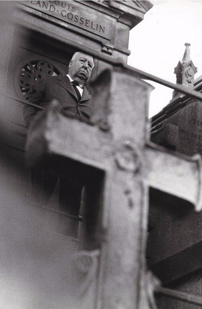 1972. Альфред Хичкок, Кладбище Монмартр