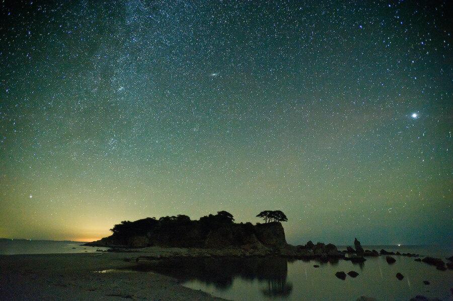 Ночь в бухте Орлинка