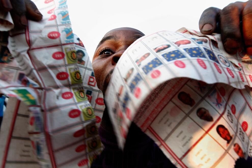 APTOPIX Congo Election
