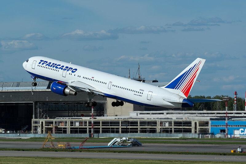 Boeing 767-36N/ER (EI-RUU) Трансаэро D808856