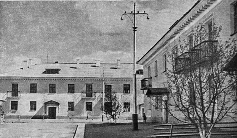 Жилые дома в Ленинском районе.