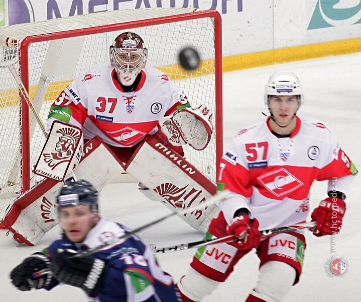 «Торпедо» vs «Спартак» 5:1 чемпионат КХЛ 2011-2012 (Фото)