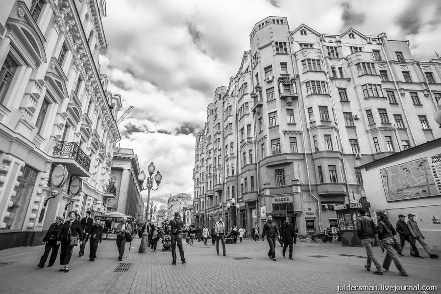 арбат центральная улица москвы