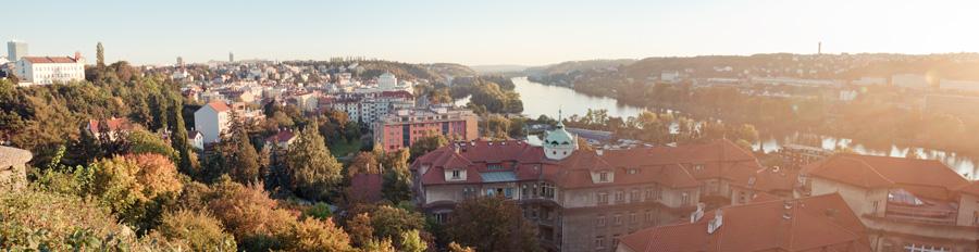 панорама Прага