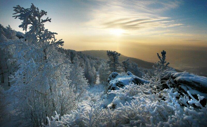 Уральские горы .
