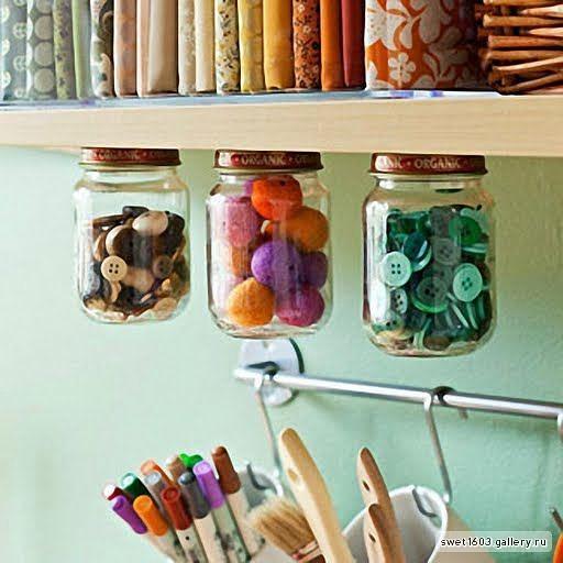 Веселая и оригинальная идея для хранения мелких...