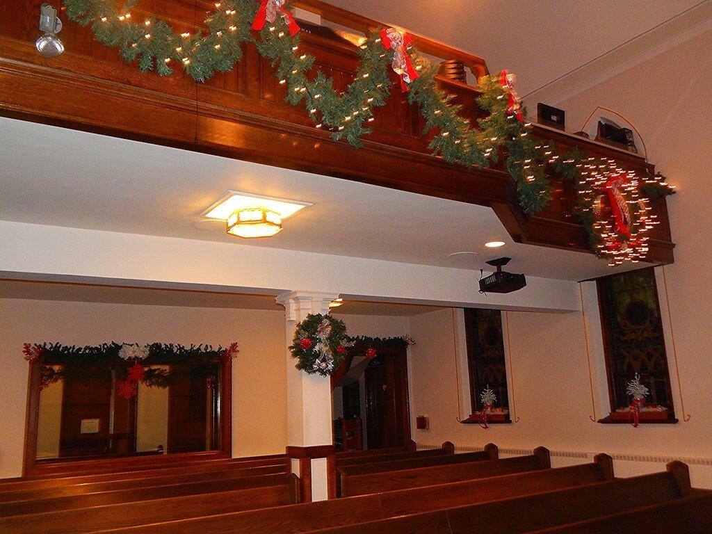 Christmas Candlelight Service.