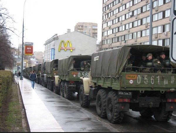 оккупация Москвы, 6 декабря 2011