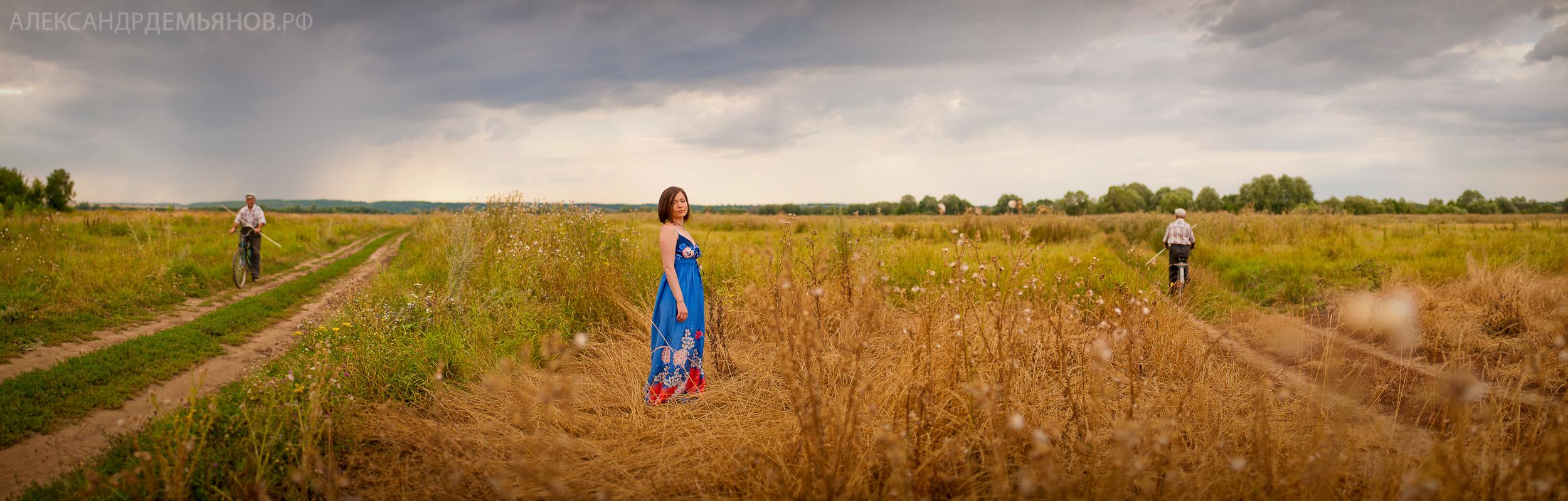 Портрет в поле