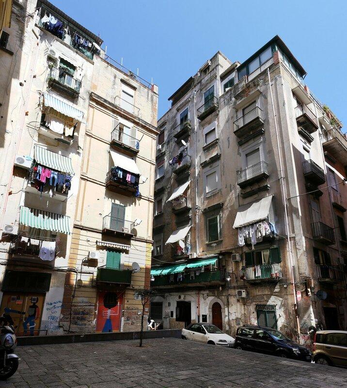 Naples. Spanish quarter (Quartieri Spagnoli)