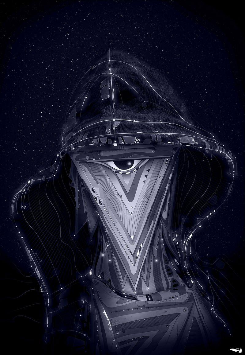 Психоделичные галлюцинации от Matei Apostolescu