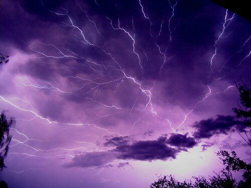 Фотографируем  молнии