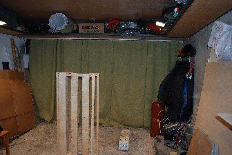 Как сделать штору для гаража 439